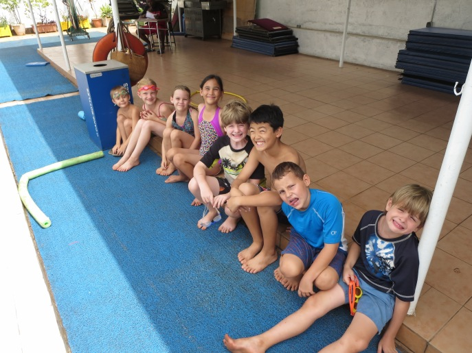 Level 3 swimmers